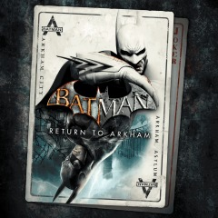 Batman: Return to Arkham   Batman: Arkham Asylum
