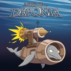 Chaos On Deponia PS4 BlaZe