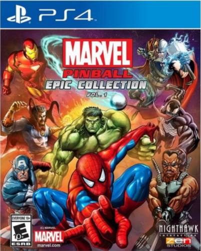 Marvel Pinball Epic Collection Vol 1